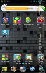 Next Launcher tema screenshot