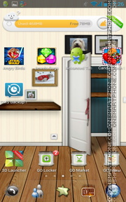 My Home Interior Design tema screenshot