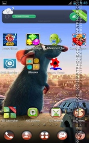 Ratatouille 07 theme screenshot