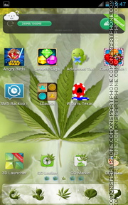 Rasta 04 tema screenshot