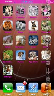 Animal and Zoo Icons theme screenshot