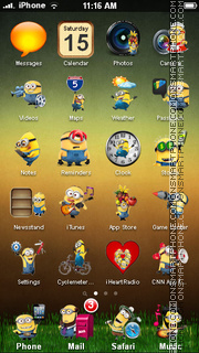 Minions 03 theme screenshot