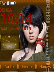 Smart Beauty Asian Girl theme screenshot