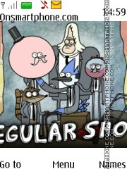 Regular Show theme screenshot