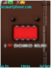 Domo-Kun tema screenshot