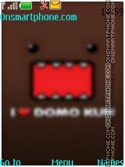 Domo-Kun theme screenshot