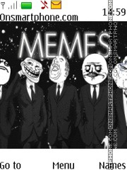 Capture d'écran Memes thème