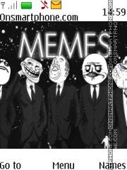 Memes theme screenshot