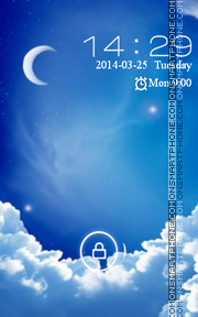Blue Sky theme screenshot