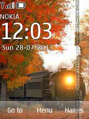 Скриншот темы USA Train