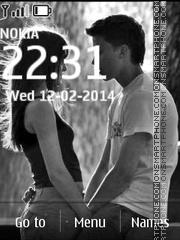 Couple Black&White theme screenshot