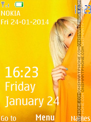 Colorful Nokia Lumia theme screenshot
