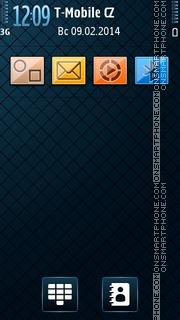 Black n Blue 02 theme screenshot