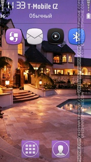 Amazing House tema screenshot