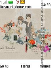 Скриншот темы Sekaiichi Hatsukoi