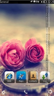 Rose S^3 theme screenshot