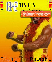 Hulk Hogan 2 theme screenshot