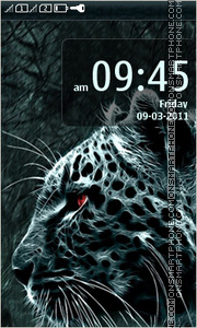 Jaguar 240x400 theme screenshot