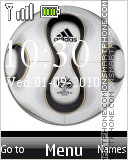 Animated Soccer Ball 02 es el tema de pantalla