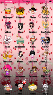 Kawaii Babe theme screenshot