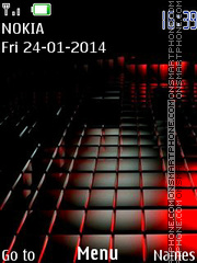 Red Black 04 theme screenshot