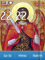 Archangel Michael theme screenshot