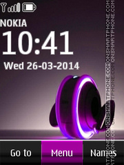 Headphones Digital tema screenshot