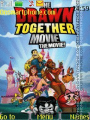 Drawn Together theme screenshot