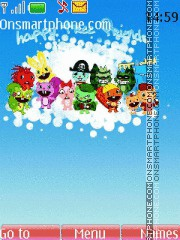 Happy Tree Friends theme screenshot