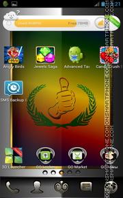 Скриншот темы Exodus Christian Bible