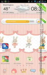 Eastern Rabbit tema screenshot