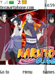 Naruto Clan Uchiha theme screenshot
