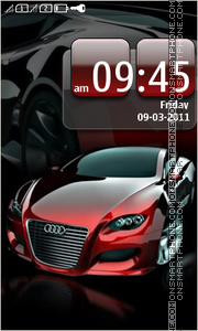 Audi 36 theme screenshot