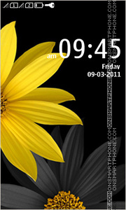 Yellow flowers 04 theme screenshot