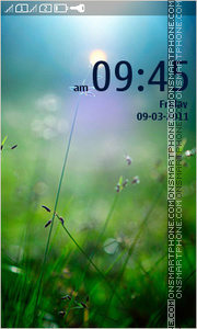 Spring Field 01 tema screenshot