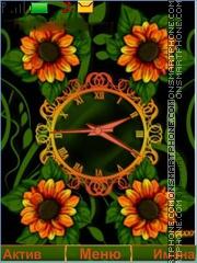 Flower theme screenshot