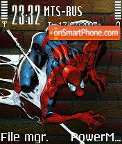 Amazing Spiderman theme screenshot