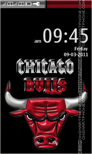 Chicago BuLLs 06 theme screenshot
