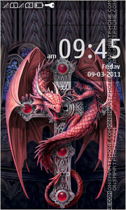 Gothic Dragon 01 theme screenshot