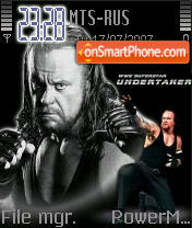 The Undertaker theme screenshot