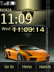 Lamborghini Gallardo 09 theme screenshot
