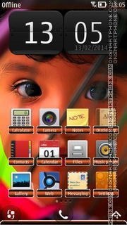 Innocence Child theme screenshot