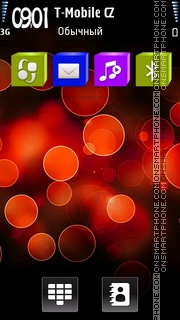 Lights HD theme screenshot