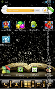 Intelligent Book tema screenshot
