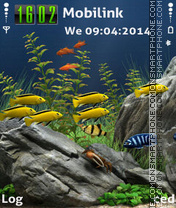 Aquarium Theme-Screenshot