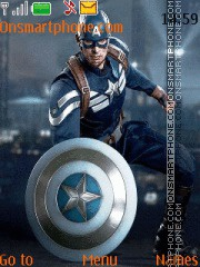 Скриншот темы Captain America Winter Soldier