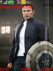 Captain America Steve Rogers theme screenshot