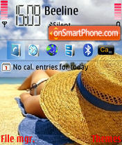 Summer Dream theme screenshot