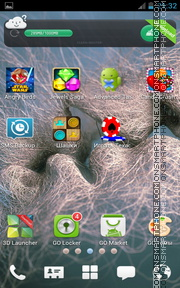 Love Kiss 09 tema screenshot