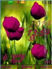 Poppies theme screenshot
